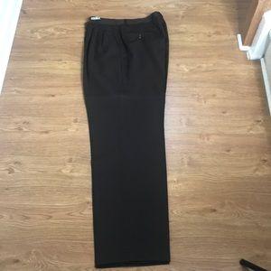 Dark Chocolate Brown Dress Pants Size 36